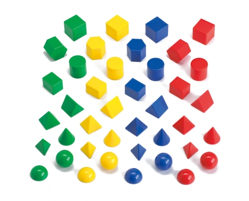 solid geometric figure with ten faces