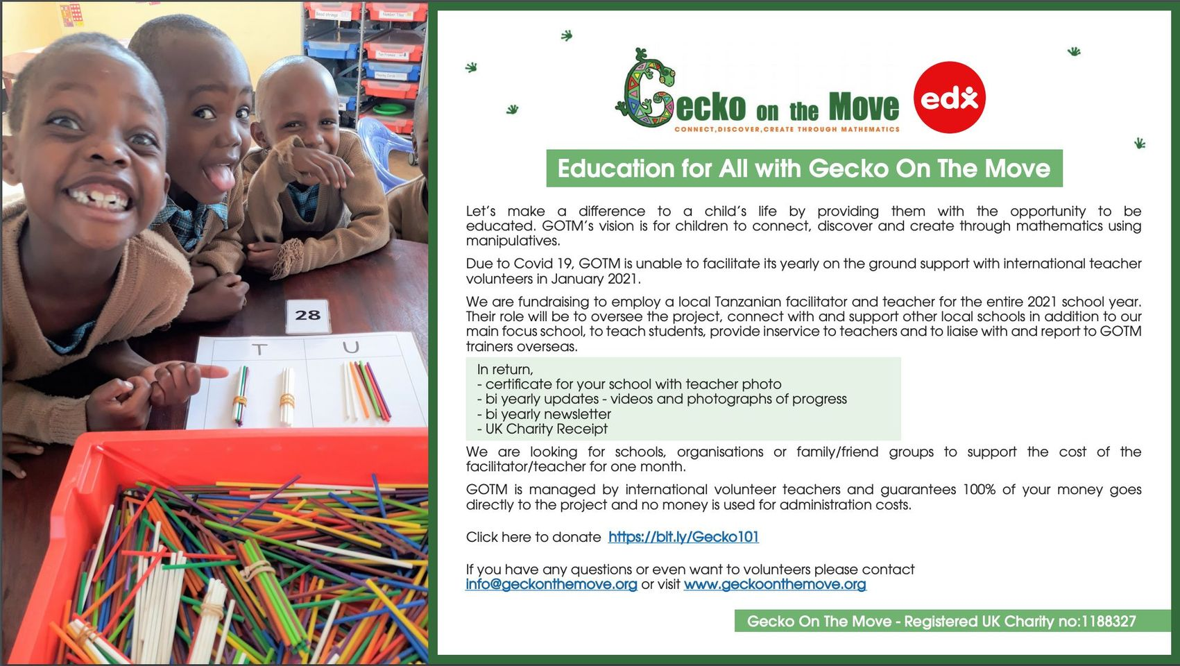 Edx Education Gecko On The Move 2020