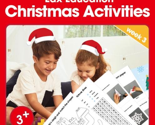 Edx Education Christmas Activities - week 3