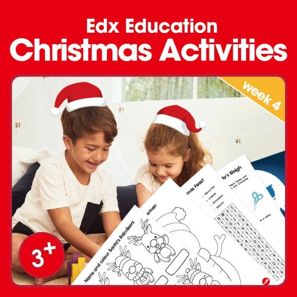 Edx Education Christmas Activities - week 4