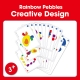 Edx Education-Rainbow Pebbles - creative design