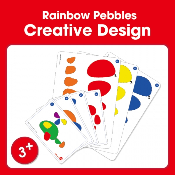 rainbow pebbles cards