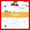 Edx Education-Rainbow Pebbles - sorting and counting cards