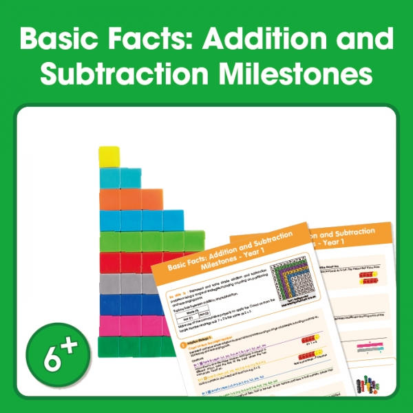 Edx Education Basic Facts - Addition and Subtraction Milestones