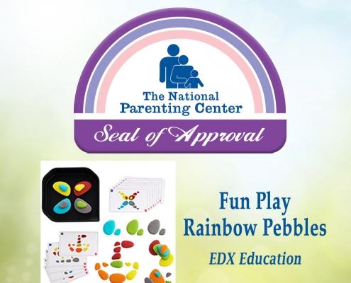 edx education Fun Play Rainbow Pebbles