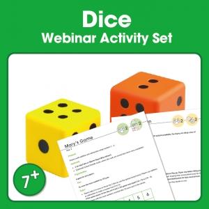 edx education Dice Webinar Activity Set